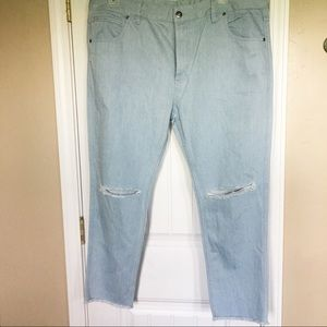 FairPlay 80's Style Light Denim Color Jeans Sz 40